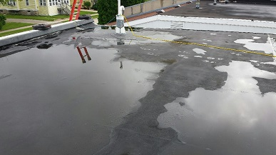 flat roof repair services pampa
