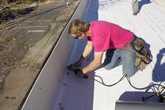 flat roof replacement services pampa tx