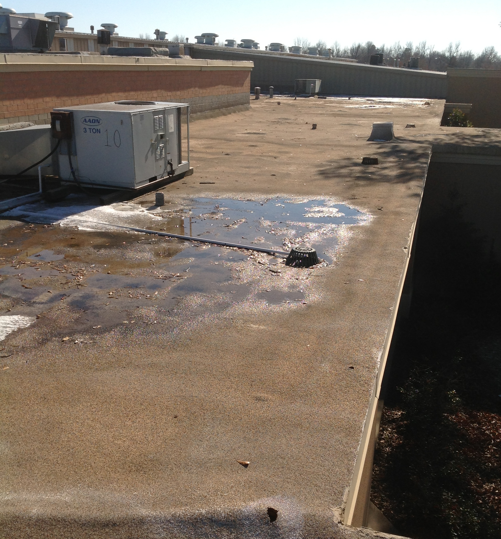 commercial roof inspection amarillo tx