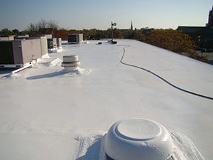 Spray Foam Roof Amarillo Texas Acr Commercial Roofing
