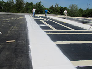 Flat Roof Coating Lubbock Tx Acr Commercial Roofing